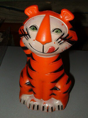 1960's TONY THE TIGER KELLOGG'S Cereal Advertising Old FIGURE BANK Vintage