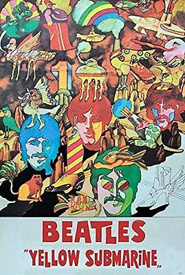 THE BEATLES POSTER 24x36 INCH MUSIC ROCK POP CONCERT NEW 1 SIDE SHEET WALL PM202