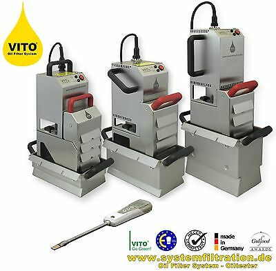 VITO 30 Oil filteration system for deep fryers. NEW. SYS Gremany