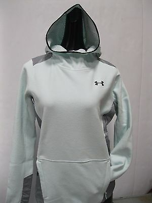 Under Armour Women's ColdGear® Infrared Popover-Aqua - Large - #1286009 -NWT!