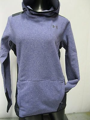 Under Armour Women's ColdGear® Infrared Popover-Purple- X Small -#1286009 -NWT!