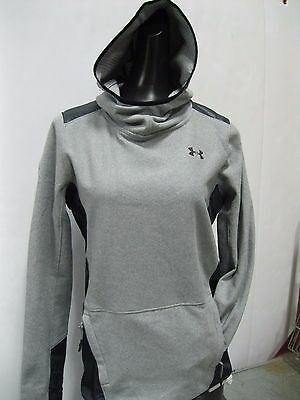 Under Armour Women's ColdGear® Infrared Popover- Gray - Small - #1286009 -NWT!