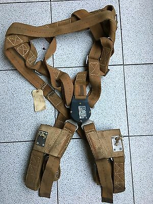 Vintage 1978 Irvin Parachute Harness Type Dmk1 Serial 845.8.5 Aircraft Materials