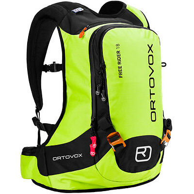 Ortovox Free Rider 18 Mens Rucksack Snow Backpack - Happy Green One Size