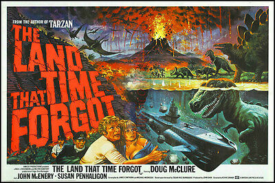 The Land That Time Forgot Vintage Movie Poster / Photo All Sizes Repro : #UC1291