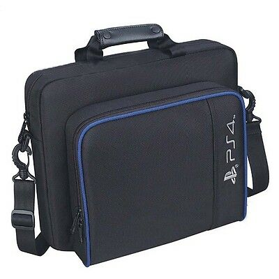 Black Travel Carry Case Carrying Bag PlayStation4 Console Accessorie Xmas Gift #