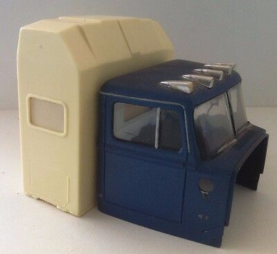 1/25 1980s fibreglass hi roof sleeper AMT ERTLE FORD WHITE TRANSTAR