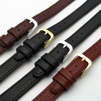 CONDOR Ladies XL Leather Watch Strap Band Buffalo Grain 8mm 10mm 12mm 14mm 086L