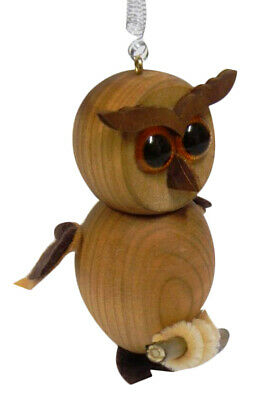 Parrot Spring Wooden Toy Puppet Bouncy Toys - Handmade - Red