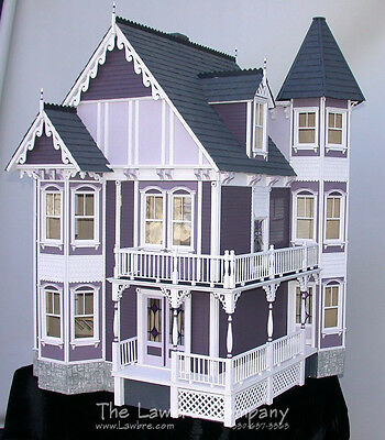 Shadow Cliff Dollhouse by Lawbre - Queen Anne style doll house shell