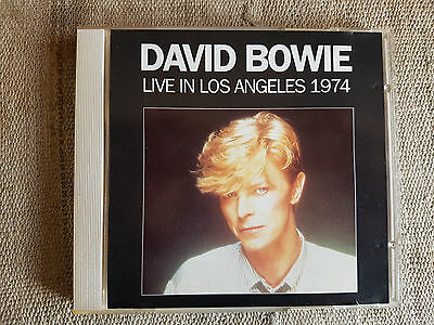 David Bowie ‎– Live In Los Angeles 1974 Etichetta: Pilz Compact Disc ‎- - CD