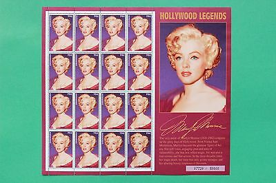 1995 Marilyn Monroe Grenada Stamp sheet - Suitable for framing - SNo42752