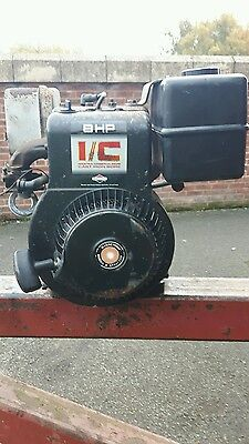Briggs and stratton 8hp engine exhaust