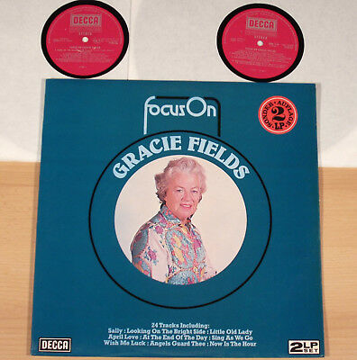 GRACIE FIELDS - Focus On Gracie Fields  (DECCA, UK / 1930's-POP / 2LP / m-)