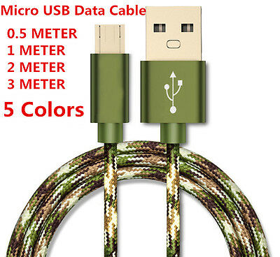 Over 2A Rapid Charge Micro USB High speed charging data sync cable cord