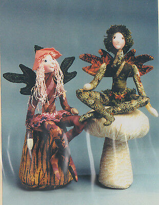 PATTERN - Blossom & Twig - fun character cloth doll PATTERN - Magic Threads