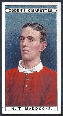 Ogdens-Famous Football Ers-#23- London Welsh Rugby - Maddocks