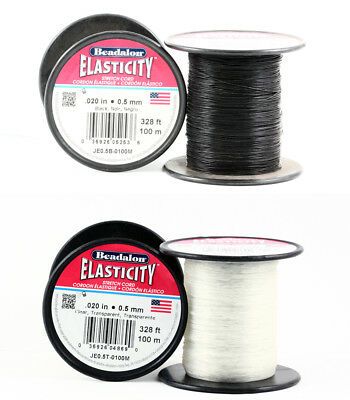 Beadalon Elasticity Bead Stretch Cord 100M Length Stringing Material
