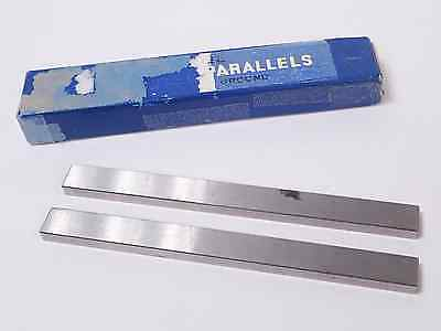 "PAIR OF WARDSON PRECISION MACHINIST PARALLEL BLOCKS, 1/2"" x 1/4"" x 6"""