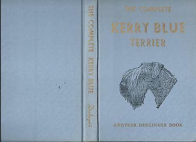1950 Dog Book THE COMPLETE KERRY BLUE TERRIER Montgomery HB First Edition Rare!!
