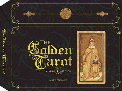 The Golden Tarot of Visconti Sforza Deck by Mary Packard 9781937994099
