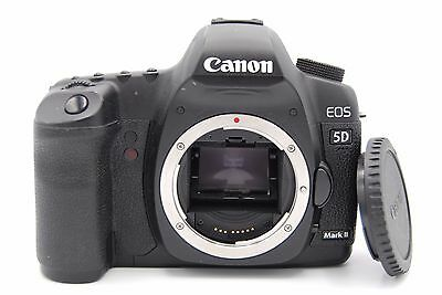 Canon EOS 5D Mark II 21.1 MP Digital SLR Camera BODY W/ BATTERY / CHARGER