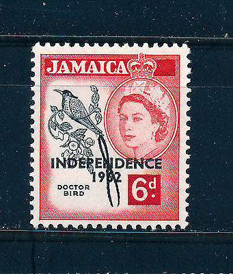 JAMAICA 1962 DEFINITIVES SG186 6d (BIRD) MNH