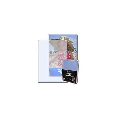 6 X 9 inches Toploader for Storage & Display x 25 per pack