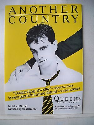 ANOTHER COUNTRY Herald DANIEL DAY LEWIS Queen's Theatre LONDON 1982