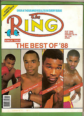 #aa. The Ring Boxing Magazine, May 1989, Best Of 1988