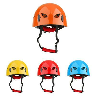 Safety Helmet Outdoor Rock Climbing Tree Carving Kayaking Rappel Rescue Hard Hat