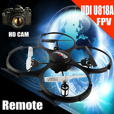 UDI U818A RC Quadcopter Drone HD Camera Cam 2.4GHz 4CH 3D 6-Axis Gyro UFO FPV UK
