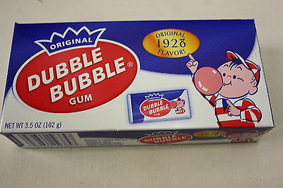2 x Original DUBBLE BUBBLE Gum 99g each box