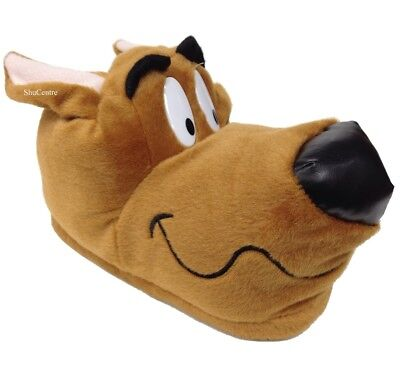 Scooby Doo Novelty Brown Hound Indoor Funny Gift Slippers Adults Kids