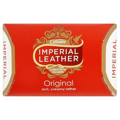 18 x Cussons Imperial Leather Original Ivory Classic & Rich Creamy Soap Bar 100g