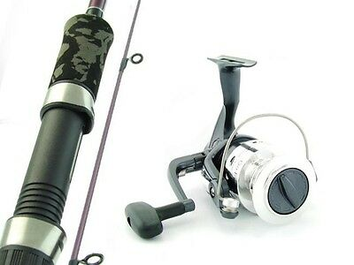 SARATOGA 6'6 8kg Graphite Spinning Fishing Rod and Reel Combo Snapper Boat