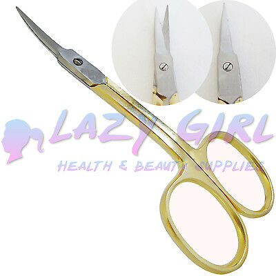 SUPER SHARP HIGH QUALITY STAINLESS STEEL CURVED Edge NAIL SCISSORS -