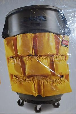 New Rubbermaid  Caddy Bag 2642 Janitorial Bag Fits Brute Round Trash Can