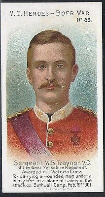 Taddy-Victoria Cross Heroes Vc V.c-#088- Quality Card!!!