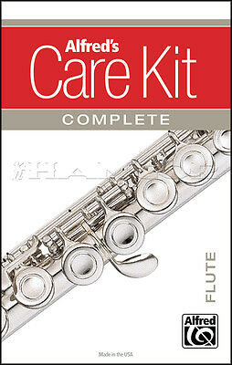 Alfred's Care Kit Complete for Flute Clean & Maintain Your Instrument