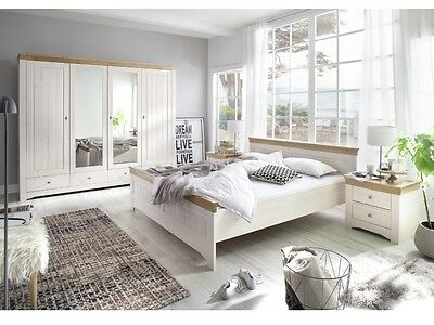 landhausstil schlafzimmer komplett weiss wales. Black Bedroom Furniture Sets. Home Design Ideas