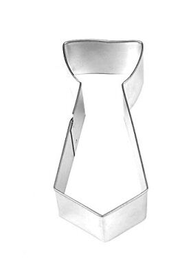 "Fox Run 3"" Necktie Shaped Cookie Biscuit Pastry Dough Cutter, Jello Craft Mold"