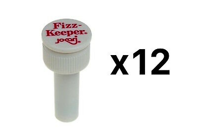 Jokari Fizz Keeper Pump Cap 2 Liter/Lt Soda Bottles Saves Carbonation (12-Pack)