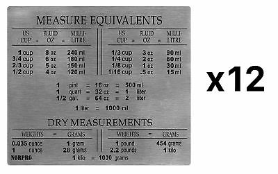 Norpro Stainless Steel Equivalent Heavy Duty Magnet Measurements (12-Pack)