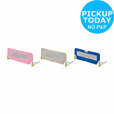 Babystart Bed Rail - Choice of Pink / Natural / Blue - From Argos