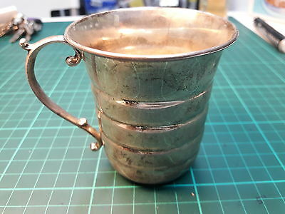 Greek ZOLOTAS old Vintage silver sterling 900 Cup mark with star (ZOLOTAS).
