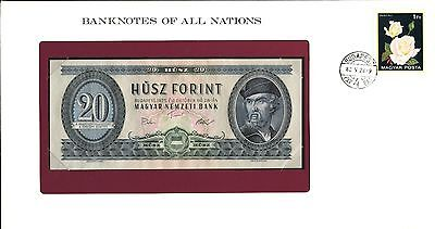 "Hungary ~ 1975 ~ 20 Forint Note ~ Cu ~ ""banknotes Of All Nations"""