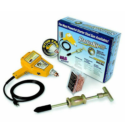 H & S Autoshot Uni-Spotter Welder Kit Plus 4550 New