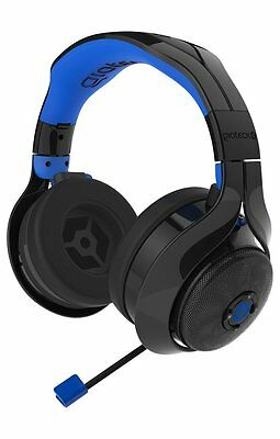 Playstation 4 PC Gioteck FL400 Wireless Headset PS4 (Xbox One*) with Ex Speakers
