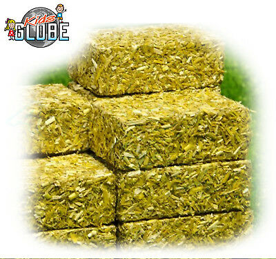 Kids Globe 1:32 Scale SQUARE SILAGE BALES Authentic Look - Pack of 4 - Farm Sets